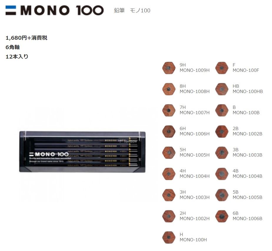 MONO100lineup